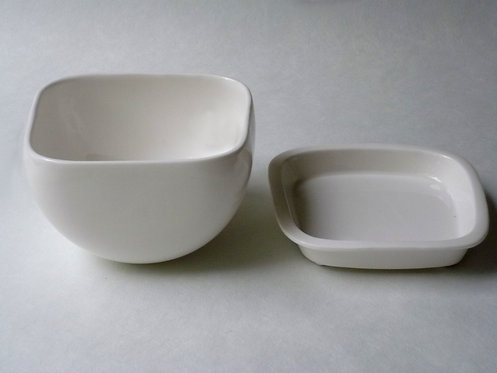 Gourd Dish and Plate