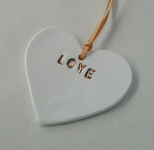 China Heart Decoration. Hanging Decoration. Hanging Heart Dec.