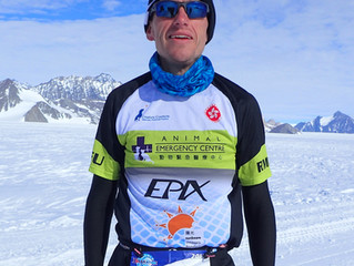 "Antarctica Part 1: ""You Sweat, You Die..."" What to wear when running in one of the most ho"
