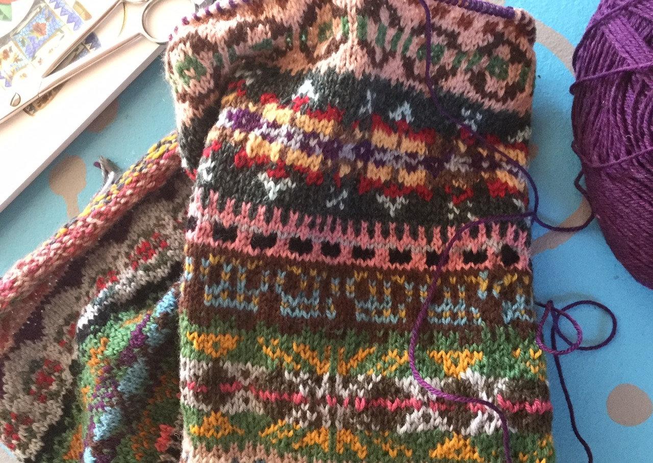 Fairisle Knitting