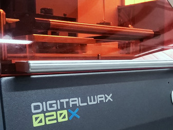 De Digitalwax 020X is gearriveerd