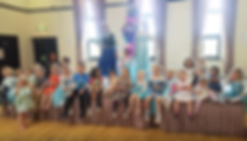 Elsa and Anna on Stage with Kids.png