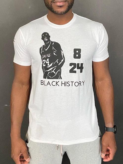 BLACK HISTORY MERCH- Inspired by KOBE BRYANT (created by YBF Youth)