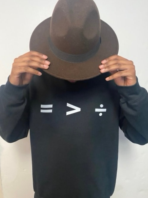 Equality is Greater than Division (3M) Black