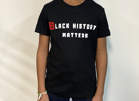 Black History Matters tee (created by YBF Youth)