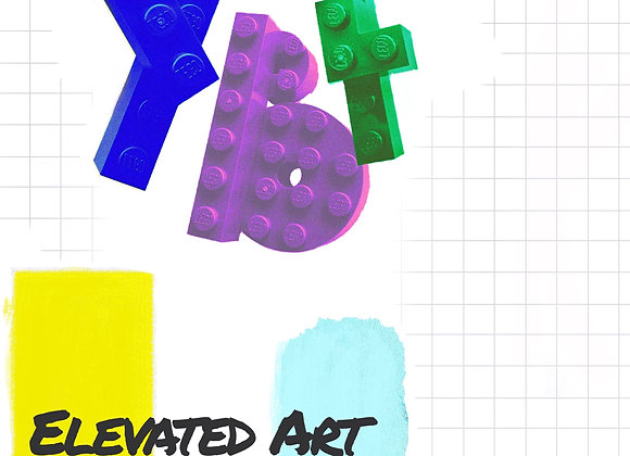 """""""Elevated Art"""" (Created by YBF Youth &MOBICOLOR )"""