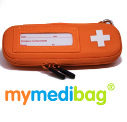 Mymedibag Single Epipen with Zippers