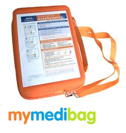 Mymedibag A5 Epipen Action Plan