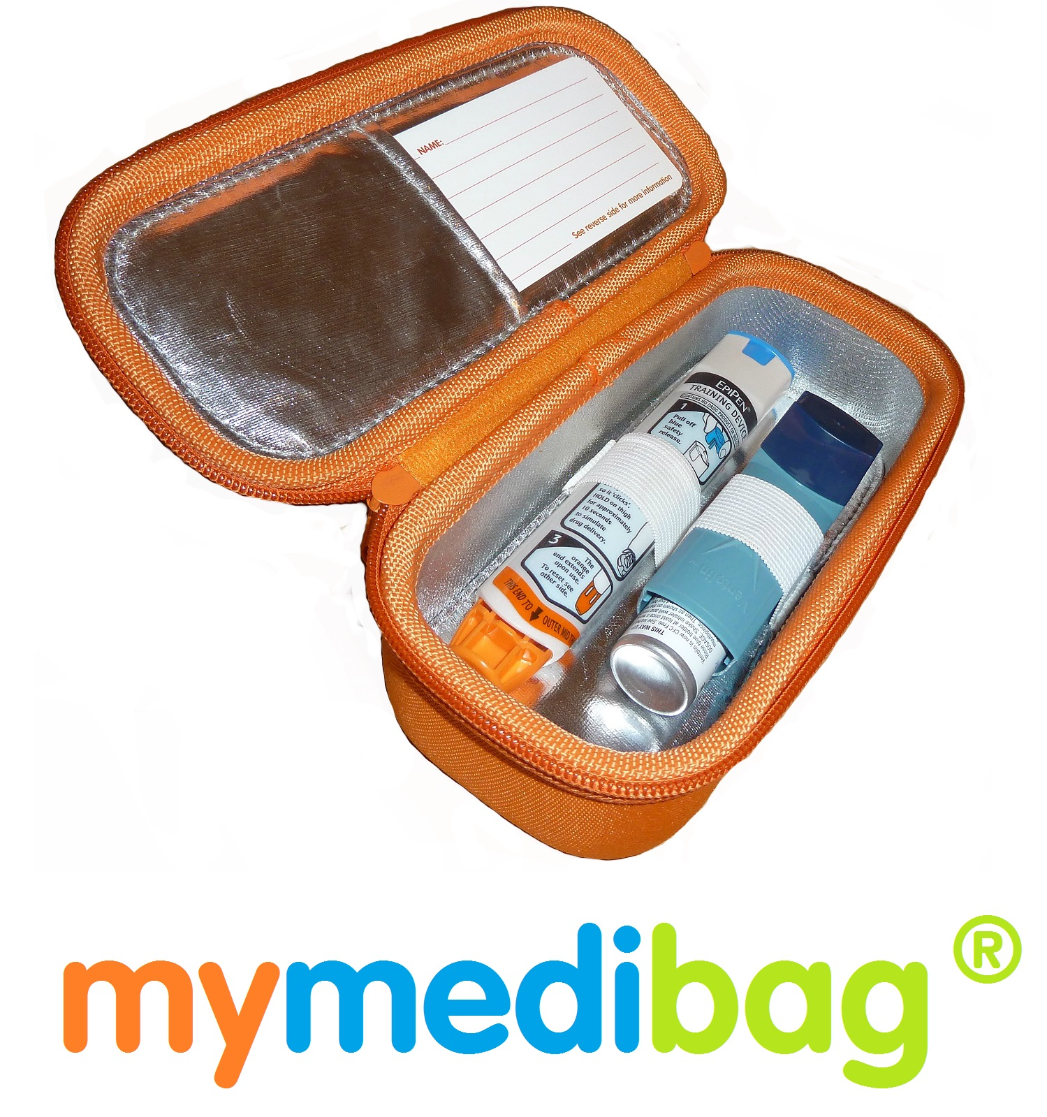 Mymedibag with Epipen and Ventolin