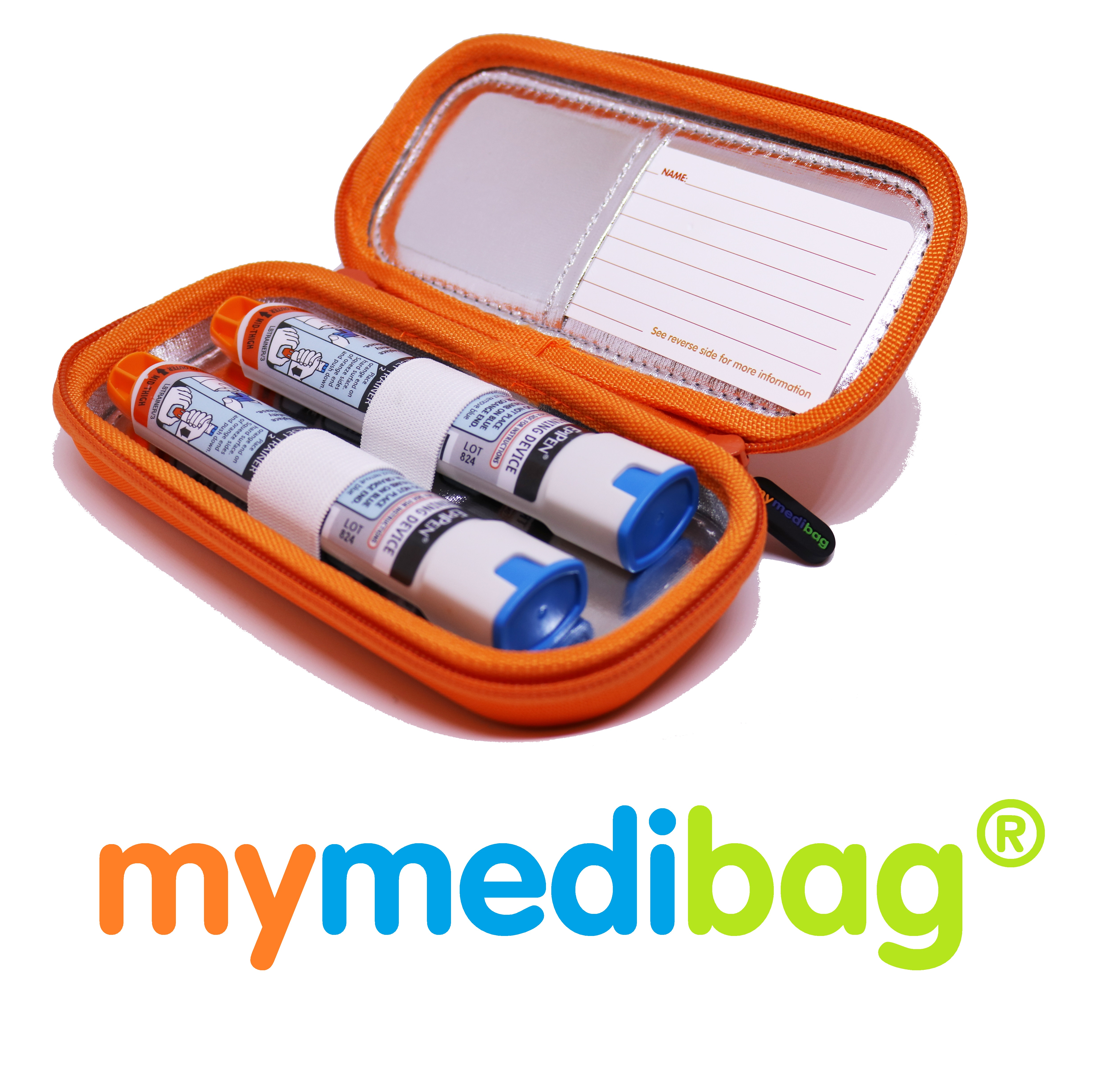Mymedibag Double Epipen with Epipens