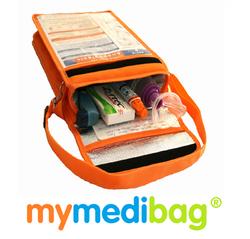 Mymedibag A4 with Medicine