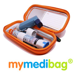 Mymedibag Double with Epipen and Ven