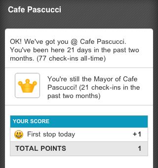 Cafe Pascucci