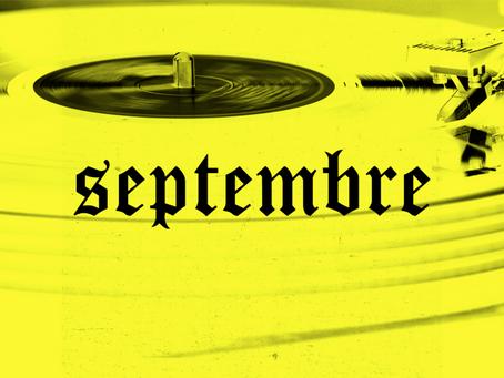 Les sorties du mois de Septembre