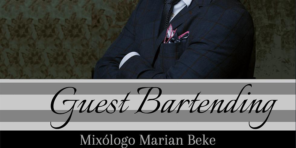Guest Bartending Marian Beke