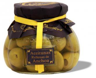 ACEITUNAS RELLENAS ANCHOA X 210 ML