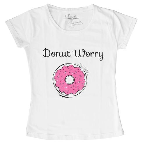 Camiseta Infantil - DONUT WORRY