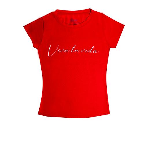Camiseta Mujer - Viva la Vida