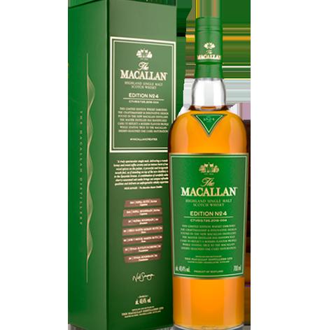 THE MACALLAN No. 4 Edición Limitada x 700ml