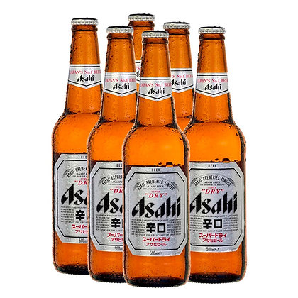 Cerveza Asahi 6 Pack