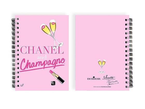 Agenda Chanel Champagne