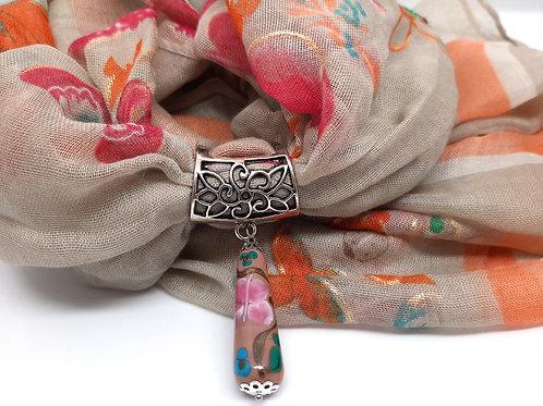 Ensemble Bijou et foulard assorti