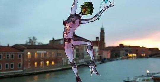 De retour de Murano...