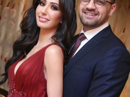 Modern Day Love Story and Getting Engaged in Bold Red, Sarah Issa Tells us The Details