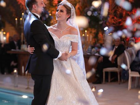 From Sara Fraijs Colorful Wedding and Look