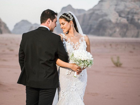 Farah Manna's Dreamy Desert Wedding