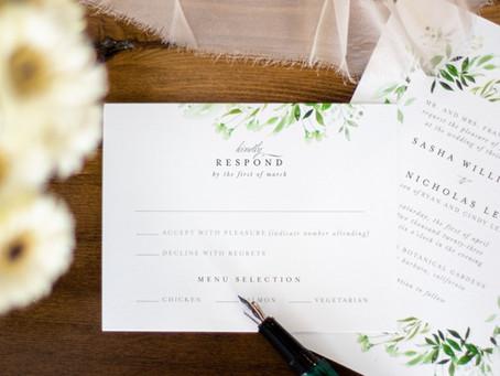 20 Most Important Wedding Etiquette Rules.