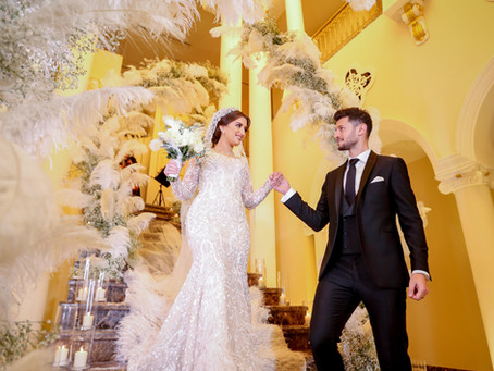 Nour Rousans Wedding Story, Look and Theme