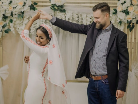 International Love, Traditional Dresses, and Cultures Coming together, Bride Marwa Tells the Story