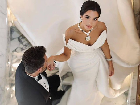 What You Don't Want To Miss From Maram Zbaeda's Wedding