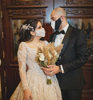 How Bride Tala Abu Ghoush Got Creative with her Wedding Planning and Had her Dream Wedding