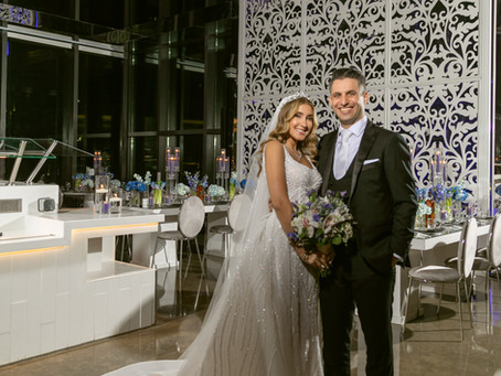 Inside Juanna Shwaihats Starry Galaxy Themed Wedding, and Full Look Details.