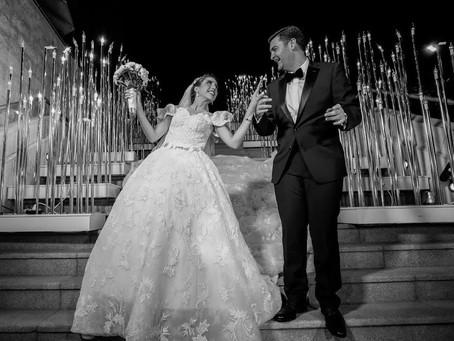 Bridal Wisdom and Gorgeous Wedding Details from Lama Abu Amara