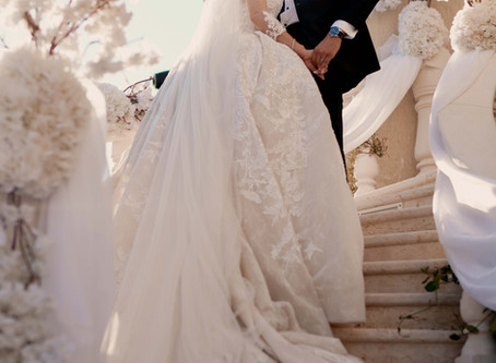 Details From Hala Yousefs White Wedding