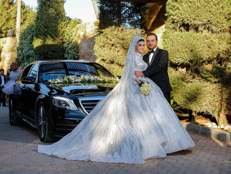 Mais Al-Ayyans Wedding Details and Her Creative Guest Book