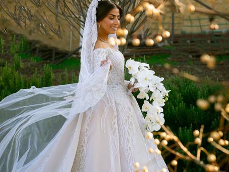 Inside Balsam Qishawis Lush Pink And White Wedding