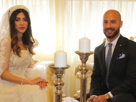 Deciding to get married during a global pandemic, Bride Farah Kanaan gives us the details
