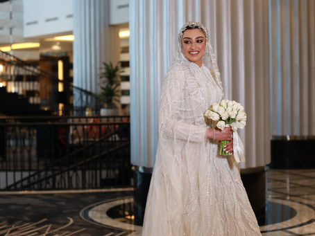 How Jude Al-Horani Put Her Wedding Look Together and More