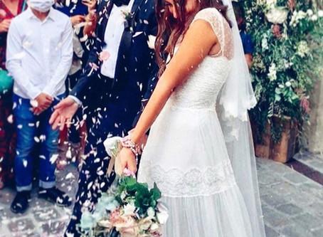 Insight Into Hiba Tawajis Low-key Parisian Wedding