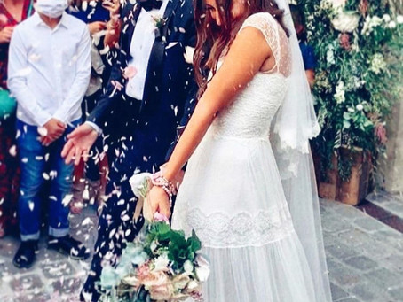Insight Into Hiba Tawajis Low-key Parisian Wedding