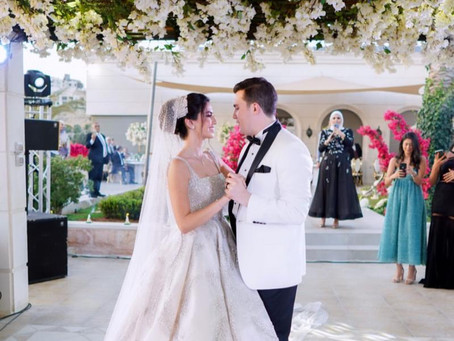 Everything You Want to Know About Dania Staitieh's Wedding Day