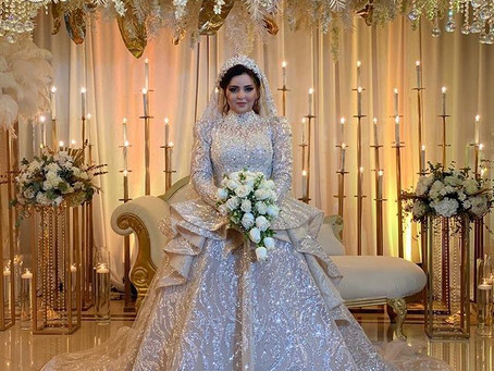 Details From Farah Qadris Wedding Journey and How She Designed her Dress