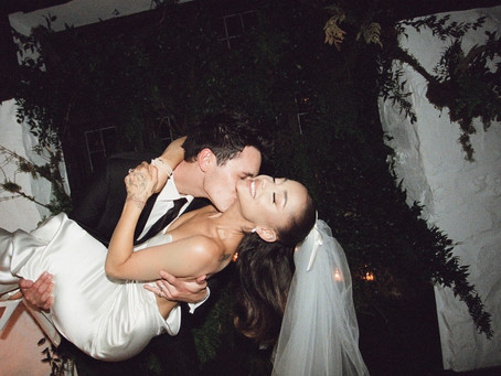 Everything You Need To See From Ariana Grande's Wedding