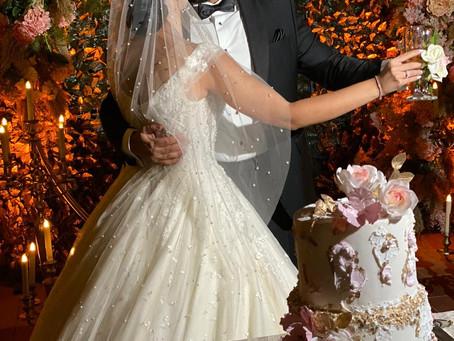 Christine Haddad's Covid Wedding Story