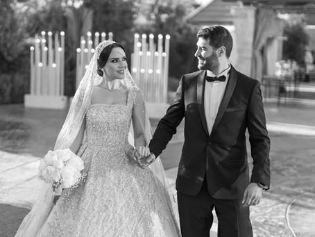 Behind Dina Shanaah's Dream Wedding Look and Details