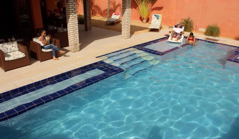Casa com piscina privada